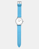 TWT004C (36MM Medium Face) Silver White Blue