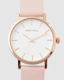 TWT004D (36MM MediumFace) Rose White Light Pink
