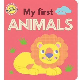 Little Beginners My First Animals Mini Book Front Cover