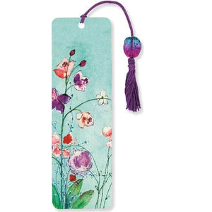 Fuchsia Blooms Bookmark