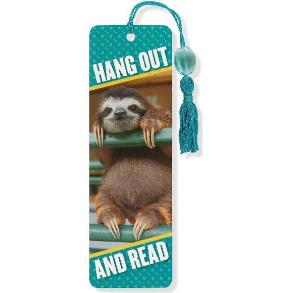 Baby Sloth Bookmark