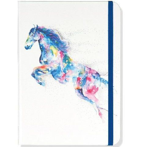 Watercolour Horse Journal
