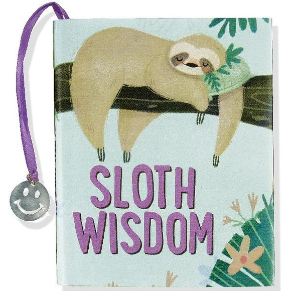 Sloth Wisdom Mini Book