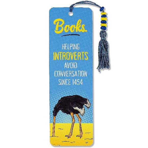 Introvert Bookmark