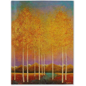 Moonlit Aspens Journal