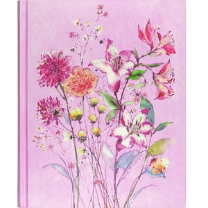 JOURNAL O/S PURPLE WILDFLOWERS Wildflowers Purple Oversized Journal