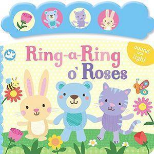 Little Me Ring a Ring o Roses Sounds Book Front Cover
