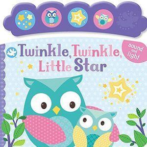 Little Me Twinkle Twinkle Little Star Sounds Book Front Cover