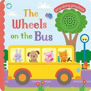Little Me The Wheels on the Bus Sounds Book Front Cover