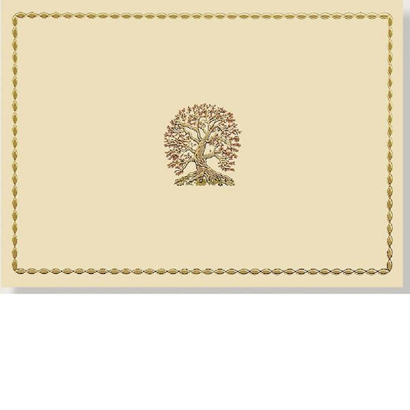 Tree Of Life Note Cards