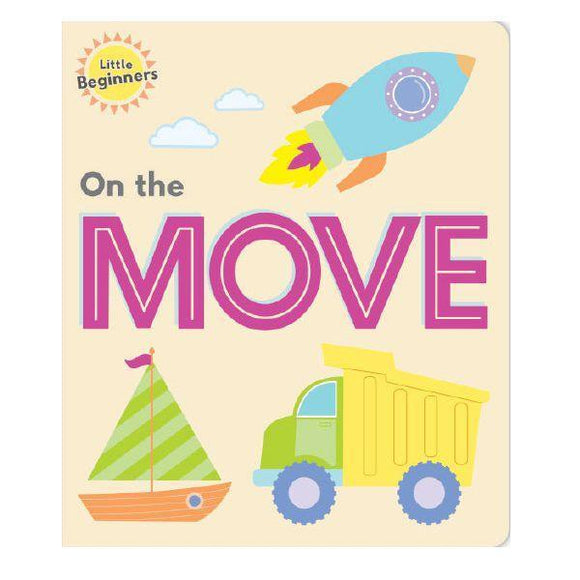 Little Beginners On the Move Book Front Cover