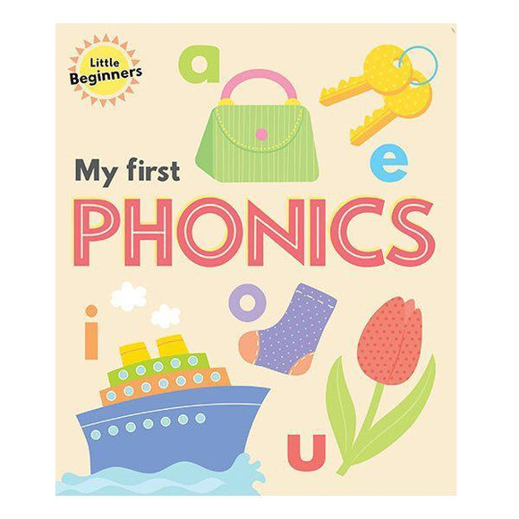 Little Beginners My First Phonics Book Front Cover