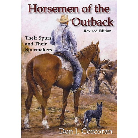 Horsemen of the Outback Book Front Cover
