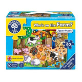 Orchard Toys - Who's on the Farm? Puzzle