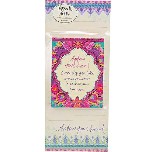 Follow Your Heart Magnetic Listpad Set