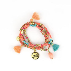 Charm Bracelet Stack - Beautiful Dreamer