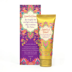 Beautiful Friend Hand Cream Tube and Box Front