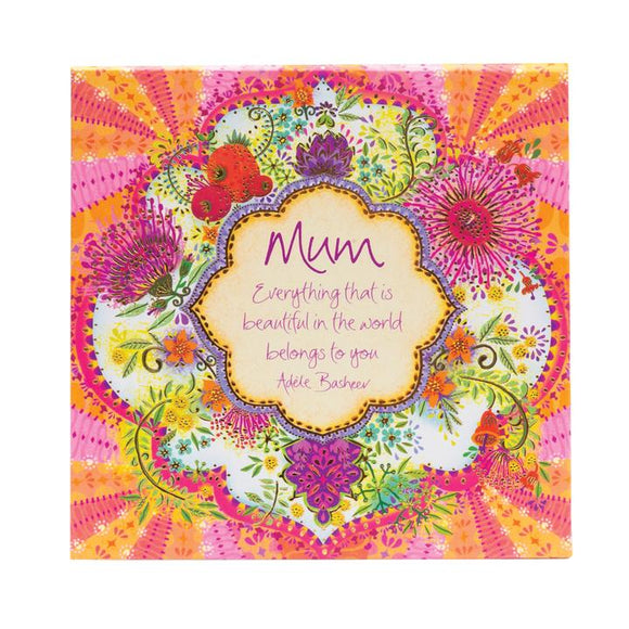 Mum Blooms - Notebox
