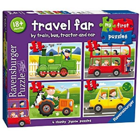 Ravensburger - My First Puzzle - Travel Far 2 3 4 5 Piece
