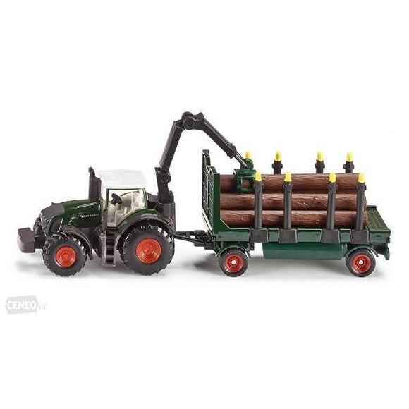 Tractor with Forestry Trailer 1:87 Scale 1861