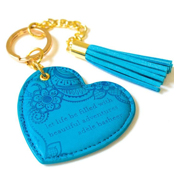 Key Chain - Amalfi Blue