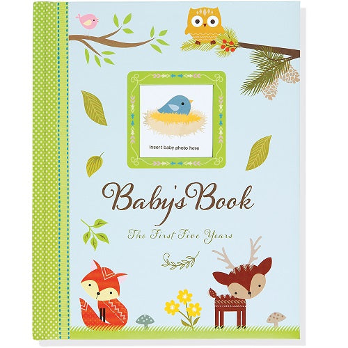 Woodland Friends Baby Book 5 Years
