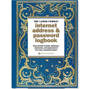 Celestial Large Internet Password Book