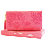 Coral Travel Clutch