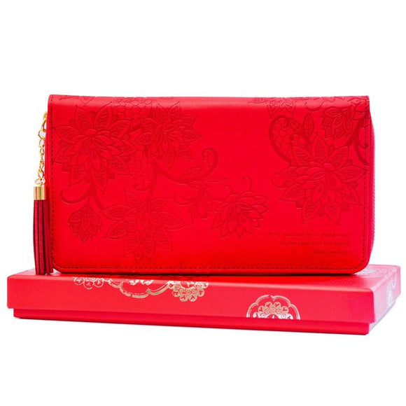 Fiesta Red Travel Clutch
