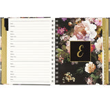 Midnight Floral Large Address Book