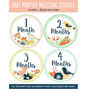 Birds Baby Stickers