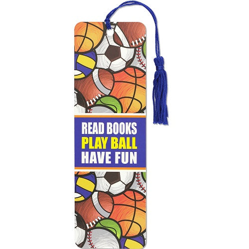 Play Ball Bookmark