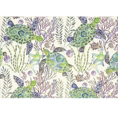 Sea Turtles Note Card