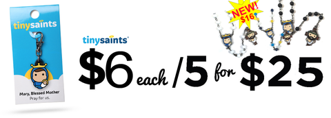 Tiny Saints Fundraiser Banner