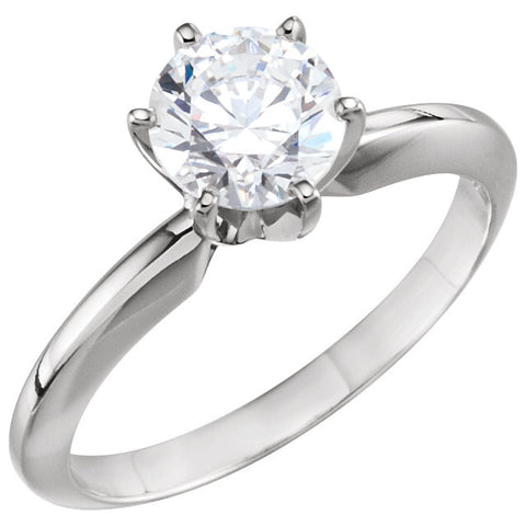 1/4 CT Diamond Solitaire Engagement Ring 1.7305 DWT
