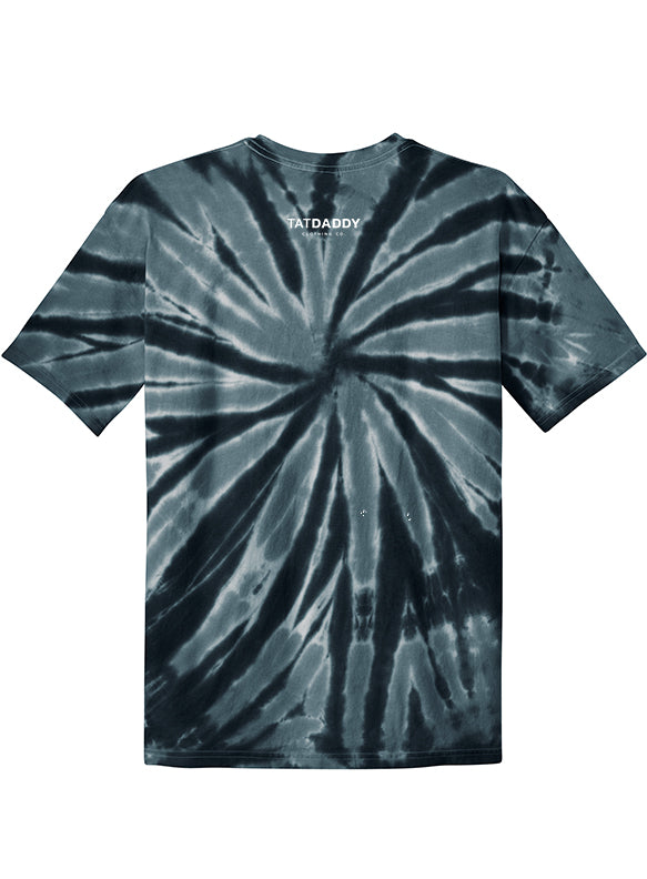 "NEW ""TATDADDY LOGO"" TIE DYE TEE - TatDaddy Clothing Co."