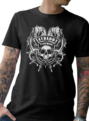 "NEW ""DRAGONS BREATH"" MEN'S TEE - TatDaddy Clothing Co. tattoo clothing"