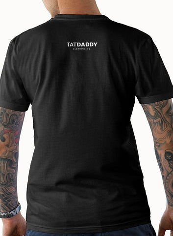 "NEW ""TATDADDY LOGO"" MEN'S TEE - TatDaddy Clothing Co. tattoo clothing"
