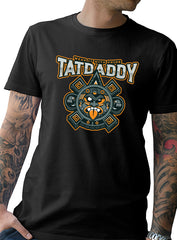 "TATDADDY ""AZTEC TIMES"" MEN'S TEE - TatDaddy Clothing Co. tattoo clothing"
