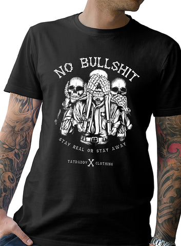 "TATDADDY ""NO BS"" MEN'S TEE"