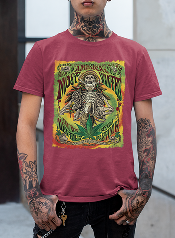"NEW  MEN'S ""MOST WANTED"" TEE - TatDaddy Clothing Co. tattoo clothing"