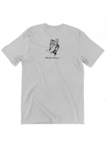 "TATDADDY ""NO FOO"" MEN'S TEE SILVER - TatDaddy Clothing Co. tattoo clothing"