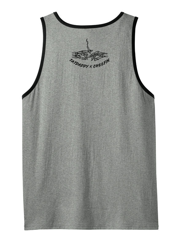 "NEW ""WEED THE INSTRUCTION"" MEN'S TANK - TatDaddy Clothing Co. tattoo clothing"