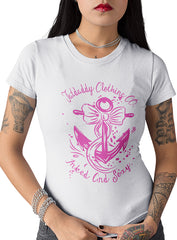 "NEW ""INKED AND SEXY"" LADIES TEE - TatDaddy Clothing Co. tattoo clothing"