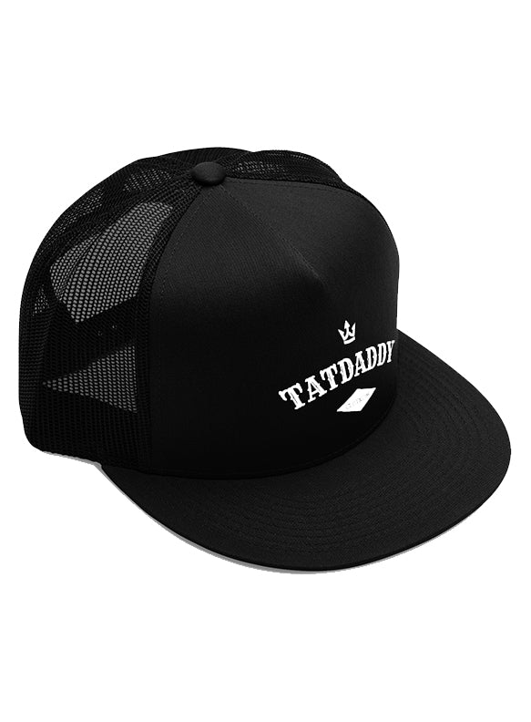 TATDADDY SNAPBACK TRUCKER HAT - TatDaddy Clothing Co. tattoo clothing