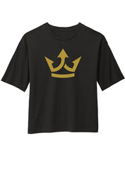 "TATDADDY ""CROWN "" CROPPED TEE - TatDaddy Clothing Co. tattoo clothing"