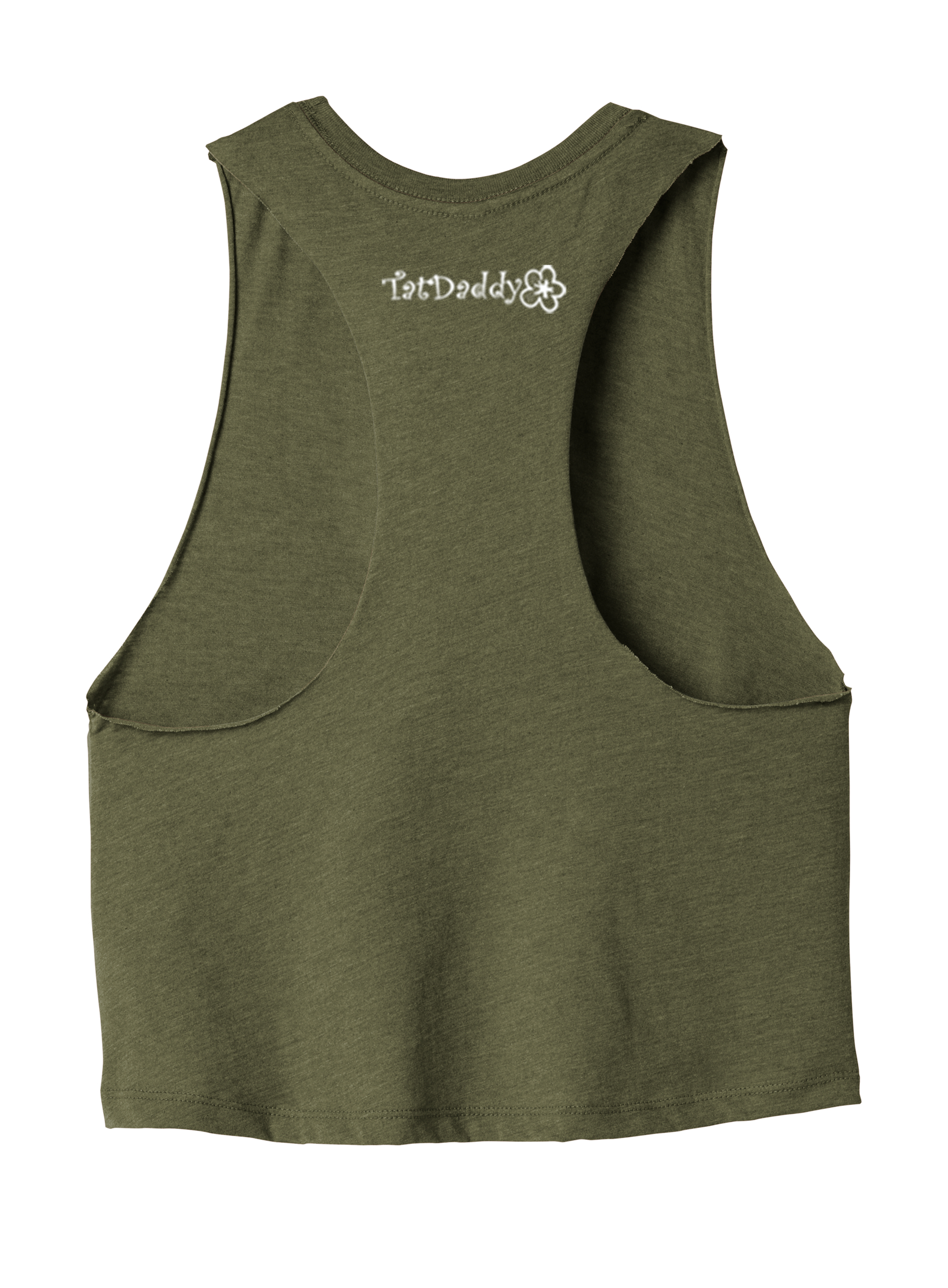 "NEW ""FORGET ME NOT"" LADIES RACERBACK CROPPED TANK - TatDaddy Clothing Co. tattoo clothing"