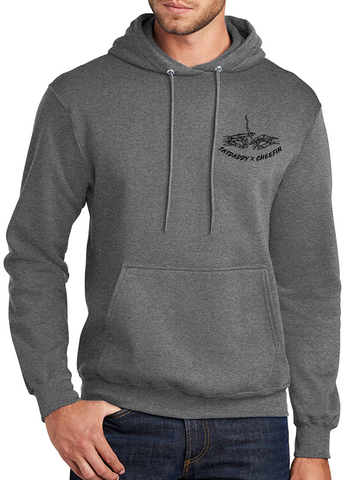 "New ""Weed The Instructions"" Graphite Heather Hoodie - TatDaddy Clothing Co. tattoo clothing"