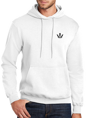 "New ""Tattoo Life"" White Hoodie - TatDaddy Clothing Co."