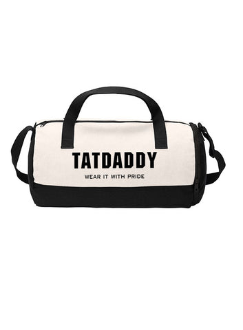 "NEW ""WEAR IT WITH PRIDE"" DUFFEL BAG - TatDaddy Clothing Co. tattoo clothing"